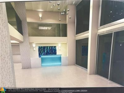 Pompano Beach Condo/Townhouse For Sale: 750 N Ocean Blvd #707