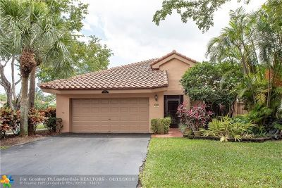 Plantation Single Family Home For Sale: 9350 NW 18th Pl