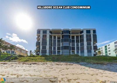 Hillsboro Beach Condo/Townhouse For Sale: 1155 Hillsboro Mile #305