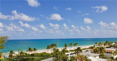 Fort Lauderdale Condo/Townhouse For Sale: 1901 N Ocean Blvd #6B