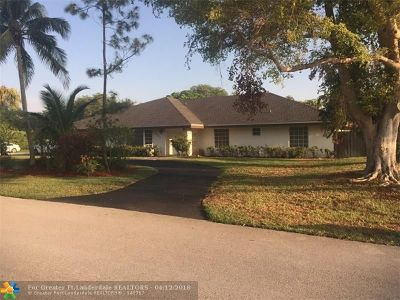 Miami Single Family Home For Sale: 9881 SW 131 St