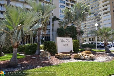 Fort Lauderdale Condo/Townhouse For Sale: 4300 N Ocean Blvd #9D