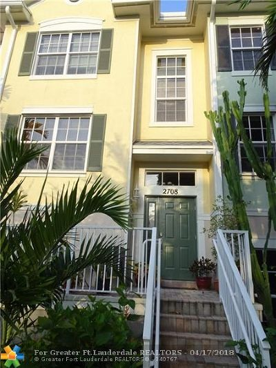 Wilton Manors Rental For Rent: 2708 Duval Ln #2708