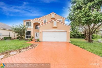 Boca Raton Single Family Home For Sale: 10575 Crystal Cove