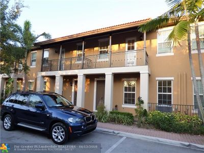 Pembroke Pines Condo/Townhouse For Sale: 1121 SW 147th Ter #1121