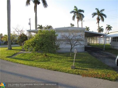 Davie Single Family Home For Sale: 8500 SW 20th Ct