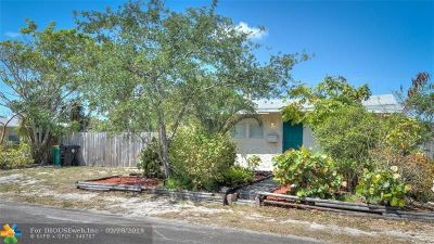 Lake Worth Single Family Home For Sale: 927 S L St