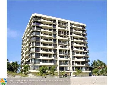 Pompano Beach Rental For Rent: 1300 S Ocean Blvd #302