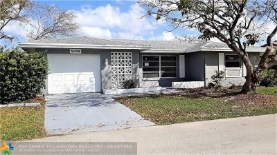 Tamarac Single Family Home For Sale: 5006 NW 49th Rd