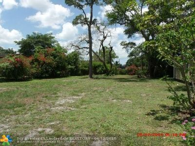Fort Lauderdale Residential Lots & Land For Sale: 1221 NW 3rd Ave