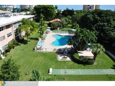 Pompano Beach Condo/Townhouse For Sale: 1481 S Ocean Blvd #110E