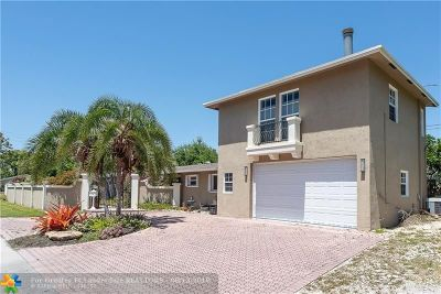 Oakland Park Single Family Home For Sale: 4010 NE 13th Ave