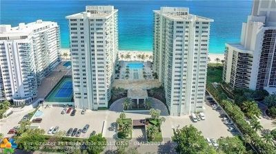 Fort Lauderdale Condo/Townhouse For Sale: 3400 Galt Ocean Dr #1408S