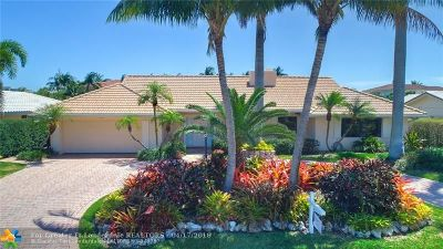 Lighthouse Point Single Family Home For Sale: 3800 NE 27th Ter
