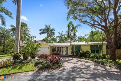 Wilton Manors Single Family Home For Sale: 2208 NW 8th Ter
