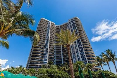 Fort Lauderdale Condo/Townhouse For Sale: 3200 N Ocean Blvd #307