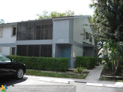 Oakland Park Condo/Townhouse Backup Contract-Call LA: 2725 S Oakland Forest Dr #104