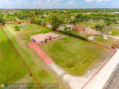 Miramar Single Family Home For Sale: 14501 SW 48th Ct
