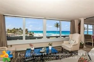Lauderdale By The Sea Condo/Townhouse For Sale: 3900 N Ocean Dr #2C