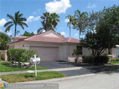 Plantation Single Family Home For Sale: 7489 NW 1st Mnr
