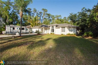 Loxahatchee Single Family Home For Sale: 15884 North Rd