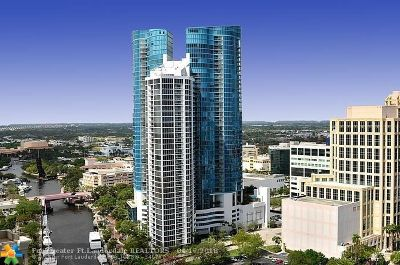 Fort Lauderdale Condo/Townhouse For Sale: 333 Las Olas Way #2107