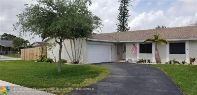 Sunrise Single Family Home For Sale: 9627 NW 48 Street