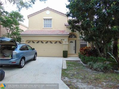 Coral Springs Single Family Home For Sale: 8779 NW 6th St