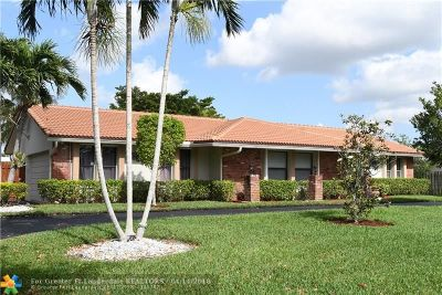 Coral Springs Single Family Home For Sale: 2800 NW 106th Ave
