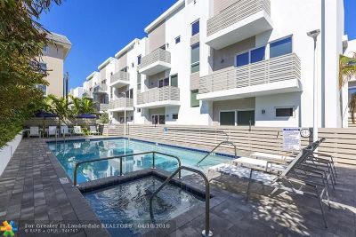 Pompano Beach Condo/Townhouse For Sale: 1319 N Ocean Blvd #1319