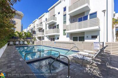 Pompano Beach Condo/Townhouse For Sale: 1319 N Ocean Blvd #1319
