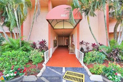 Tamarac Condo/Townhouse For Sale: 9151 Lime Bay Blvd #205