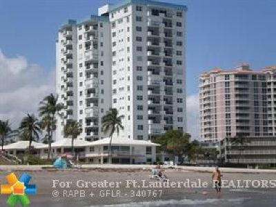 Lauderdale By The Sea Condo/Townhouse For Sale: 1500 S Ocean Blvd #301