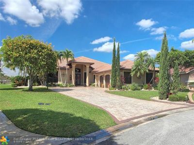 Coral Springs FL Single Family Home For Sale: $777,000