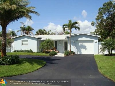 Oakland Park Single Family Home For Sale: 4321 NE 13th Av