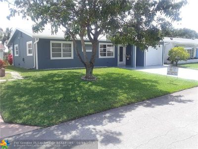 Tamarac Single Family Home For Sale: 4614 NW 47th Ct
