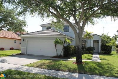 Pembroke Pines Single Family Home For Sale: 1831 NW 180th Way