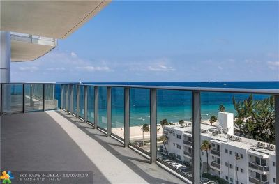 Broward County Condo/Townhouse For Sale: 701 N Fort Lauderdale Beach Blvd #703