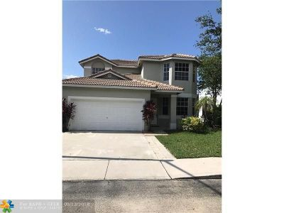 Pembroke Pines Single Family Home For Sale: 16253 NW 20th St
