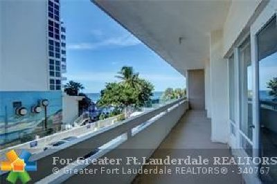 Fort Lauderdale Condo/Townhouse For Sale: 4020 Galt Ocean Dr #109