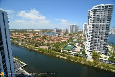 Aventura Condo/Townhouse For Sale: 20515 E Country Club Dr #2049