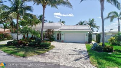 Pompano Beach Single Family Home For Sale: 2750 NE 6th St