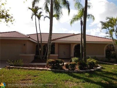 Coral Springs Single Family Home For Sale: 5370 NW 58th Ter