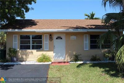 Tamarac Single Family Home Backup Contract-Call LA: 7002 NW 99th Way