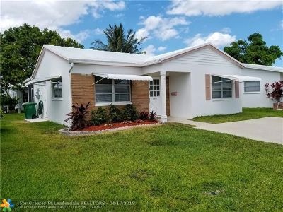 Tamarac Single Family Home For Sale: 6811 NW 75th St