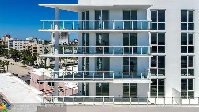 Broward County Condo/Townhouse For Sale: 401 N Birch Rd #508