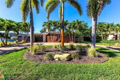 Wilton Manors Single Family Home For Sale: 1819 NE 27th St