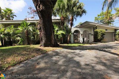 North Miami Beach Single Family Home For Sale: 2181 NE 190th Ter