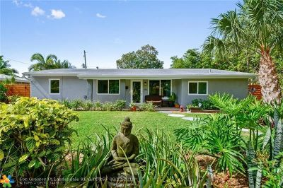 Wilton Manors Single Family Home For Sale: 1416 NE 27 Street