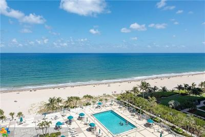Pompano Beach Condo/Townhouse For Sale: 1620 S Ocean Blvd #11K